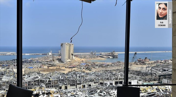 Beyrut'a bakıp fetih değil felaketi görebilmek - Aslı Odman
